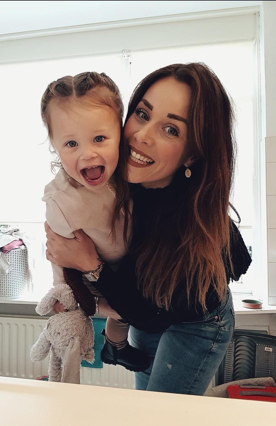 Sanne en dochter
